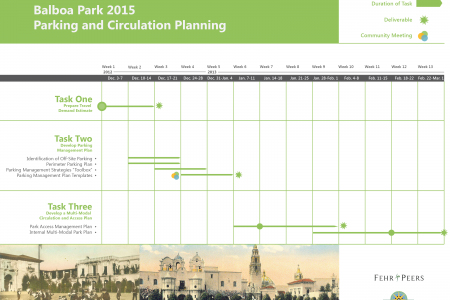 Project Schedule Infographic