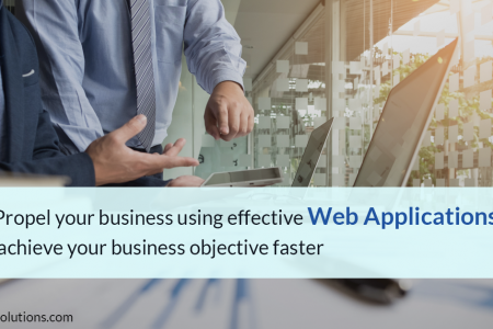 Propel your business using effective Web Applications Infographic