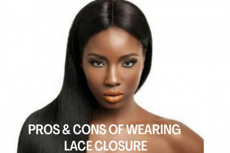 Pros and Cons of Lace Closure  Infographic