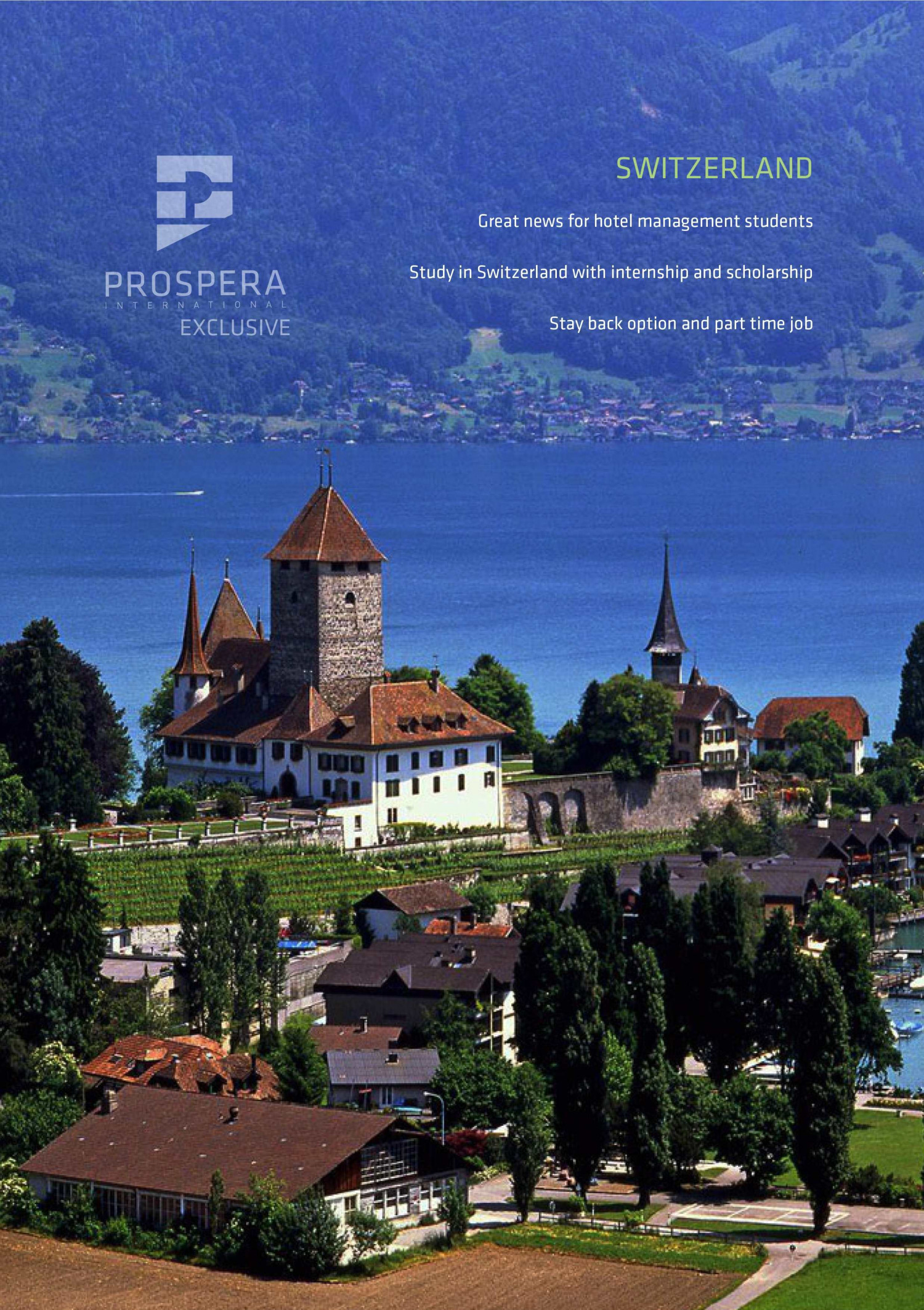 PROSPERA INTERNATIONAL EXCLUSIVE: SWITZERLAND  Infographic