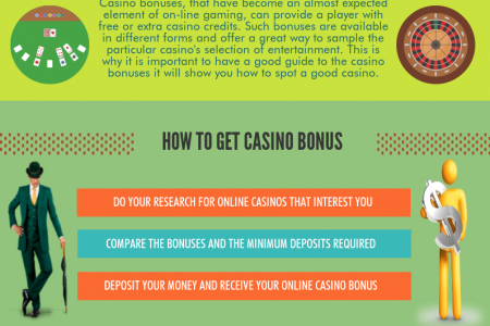 Protect Yourself by Understanding Online Casino Bonuses Infographic