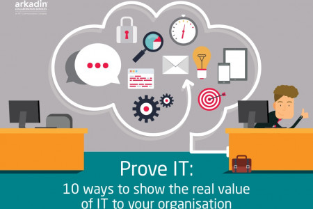 Prove IT! 10 ways to show the real value of IT to your organisation Infographic
