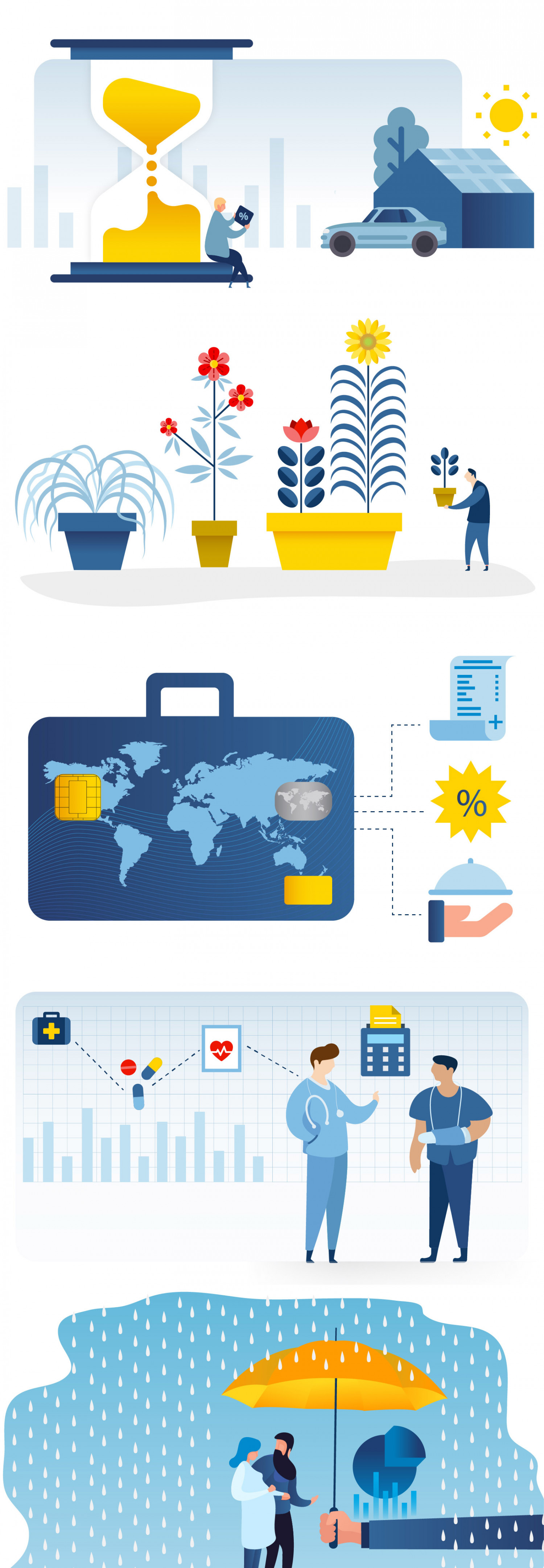 Prudential illustrations Infographic