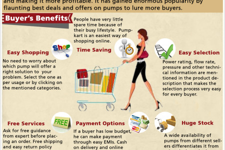 Pumpkart: E-commerce Site with Exclusive Product Range Infographic