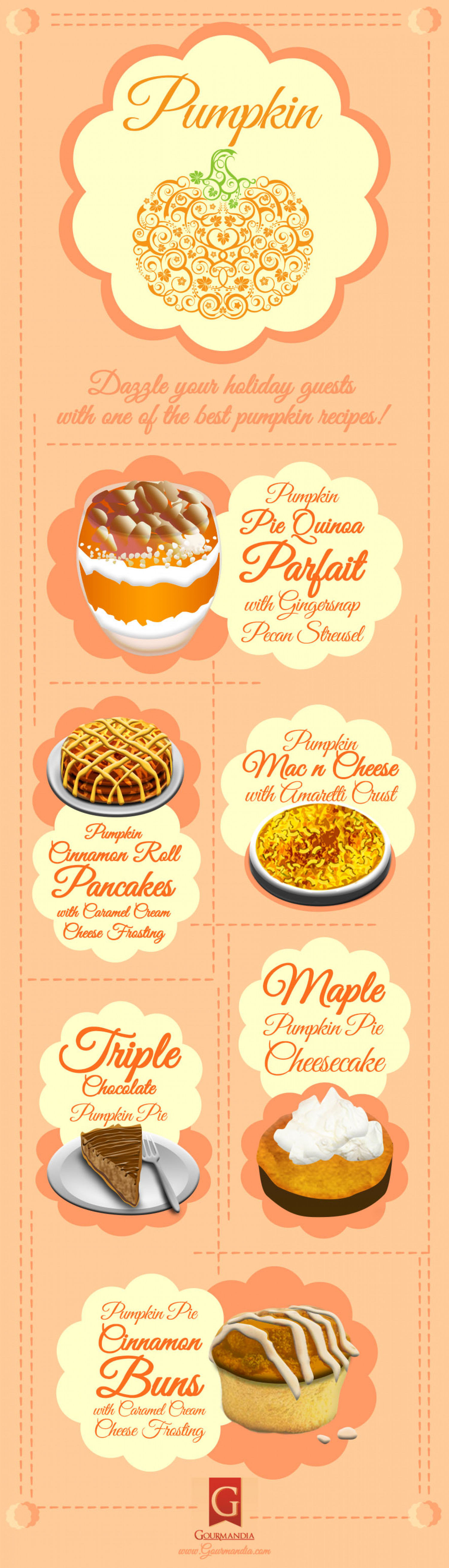 Pumpkin Recipes to Try Infographic