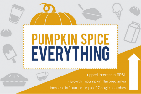 Pumpkin Spice Everything Infographic