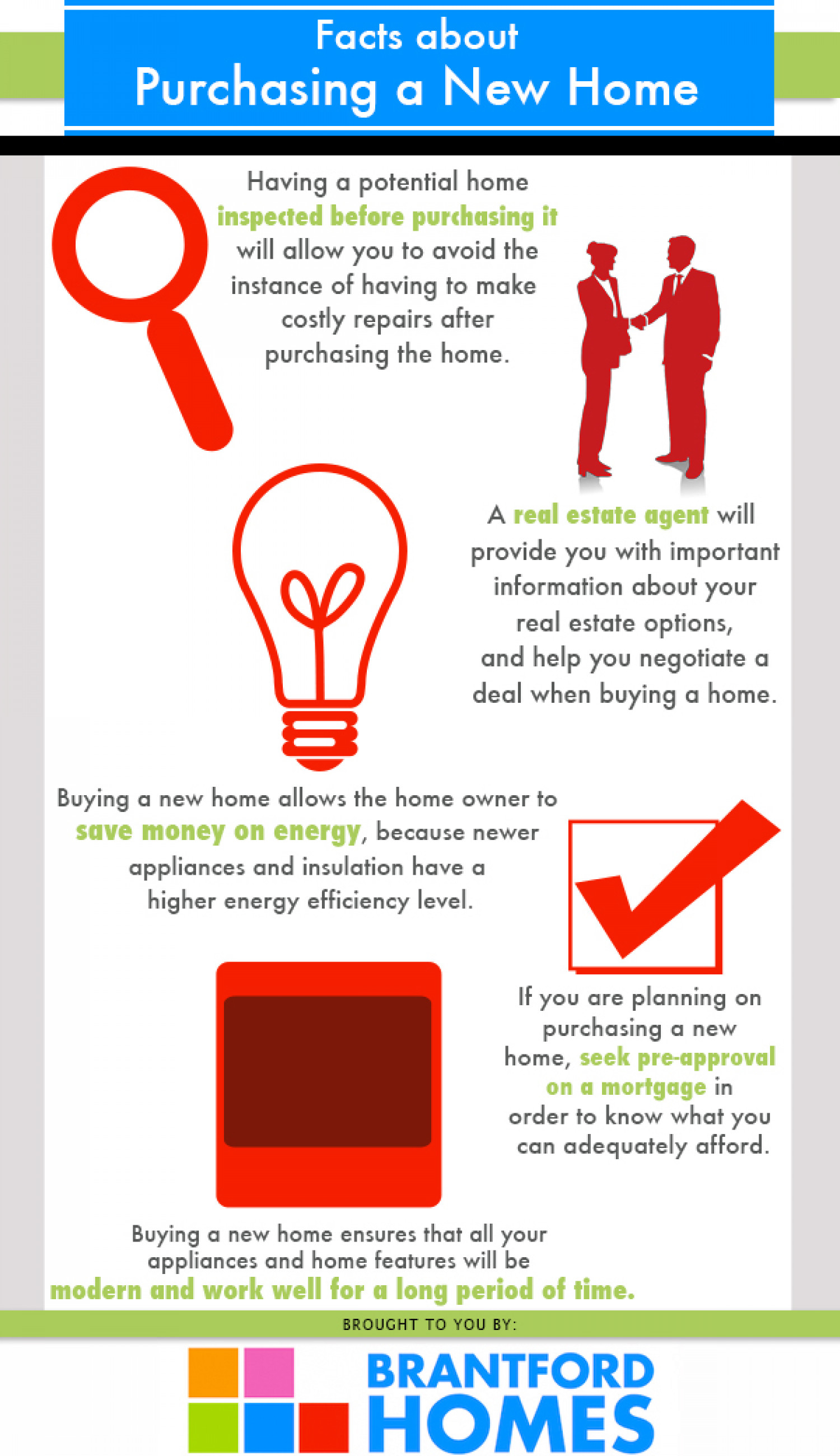 Purchasing A New Home Infographic