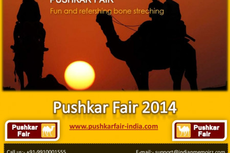 Pushkar Fair India Infographic
