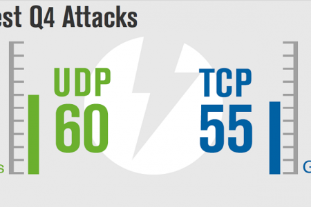 Q42014 DDoS Trends  Infographic