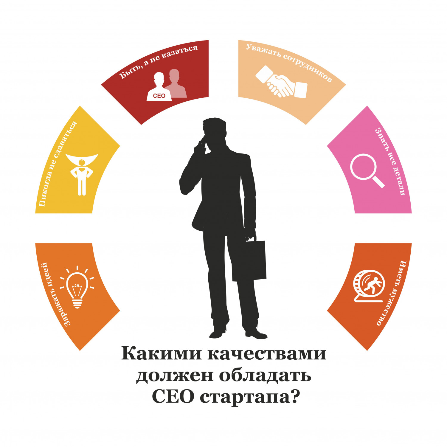 Qualities of CEO Infographic
