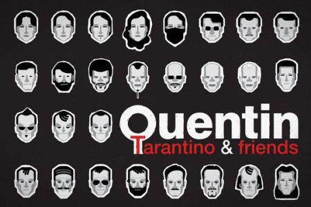 Quentin Tarantino and Friends  Infographic