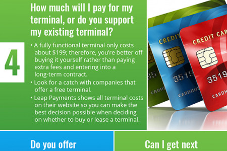 Questions Every Small Business Must Ask Their Credit Card Processor Infographic