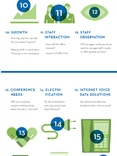 Questions to consider when planning your ideal office space  Infographic