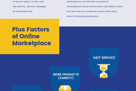Quick Guide on eCommerce Marketplaces Business Model, Trends & Other Facts Infographic
