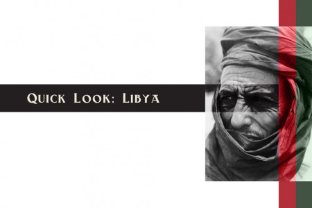 Quick Look: Libya Infographic