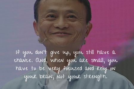 Quote of Jack Ma Infographic