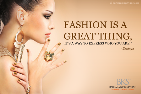 Quotographic Presented by Barbara King Styling Infographic
