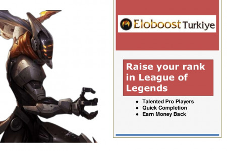 Raise your rank in League of Legends Infographic