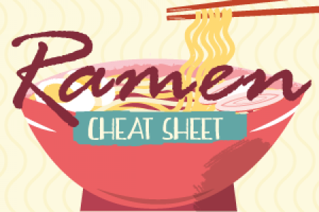 Ramen Cheat Sheet Infographic