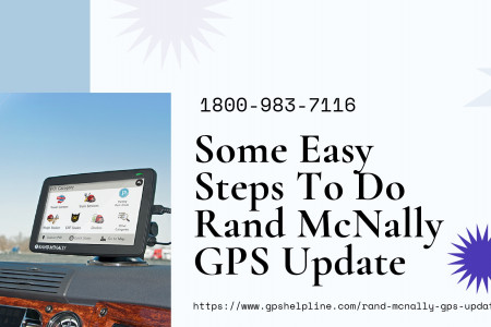 Rand McNally GPS Update For Truck/RV 1-8009837116 Rand Mcnally Helpline Now Infographic
