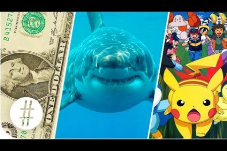 Random Numbers: Dollars, Sharks & Pokemon  Infographic