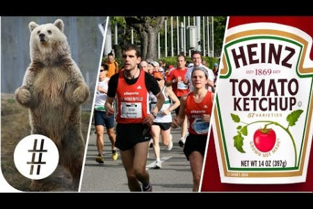 Random Numbers: Giant Bears, Ultrathon & Ketchup  Infographic