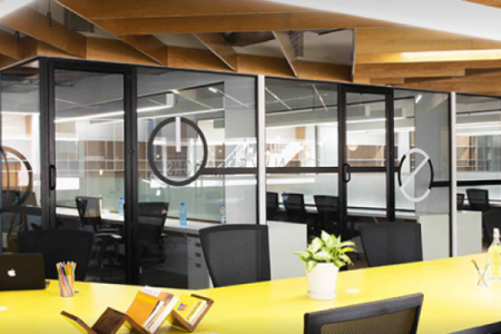 ready to occupy serviced office spaces- New Bridge offices Infographic