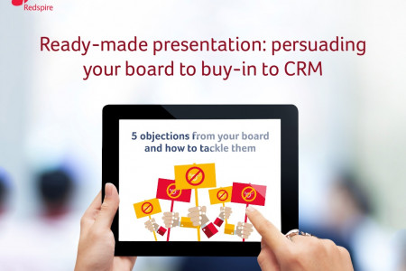 Ready-made Presentation: Persuading Your Board to Buy-in to CRM Infographic