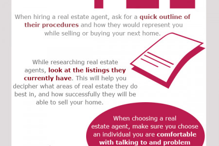 Real Estate Agents Infographic