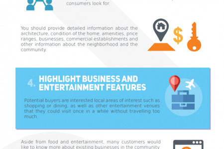 Real Estate Content Marketing Simplified With 8 Top Tips (Infographic) Infographic