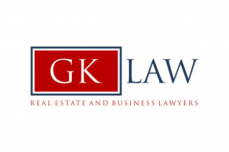 Real estate lawyers GK law - logo Infographic