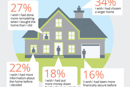 Real Estate Regrets Survey Infographic