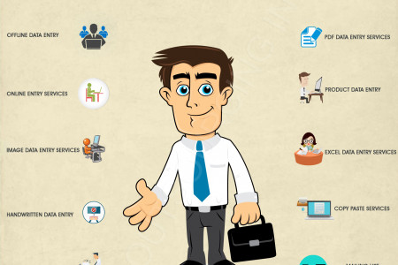 Reason Why You Should Consider Picking Up Data Entry Services. Infographic