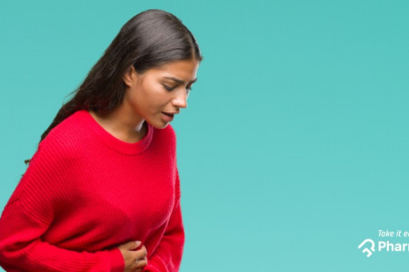 Reasons for stomach ache Infographic