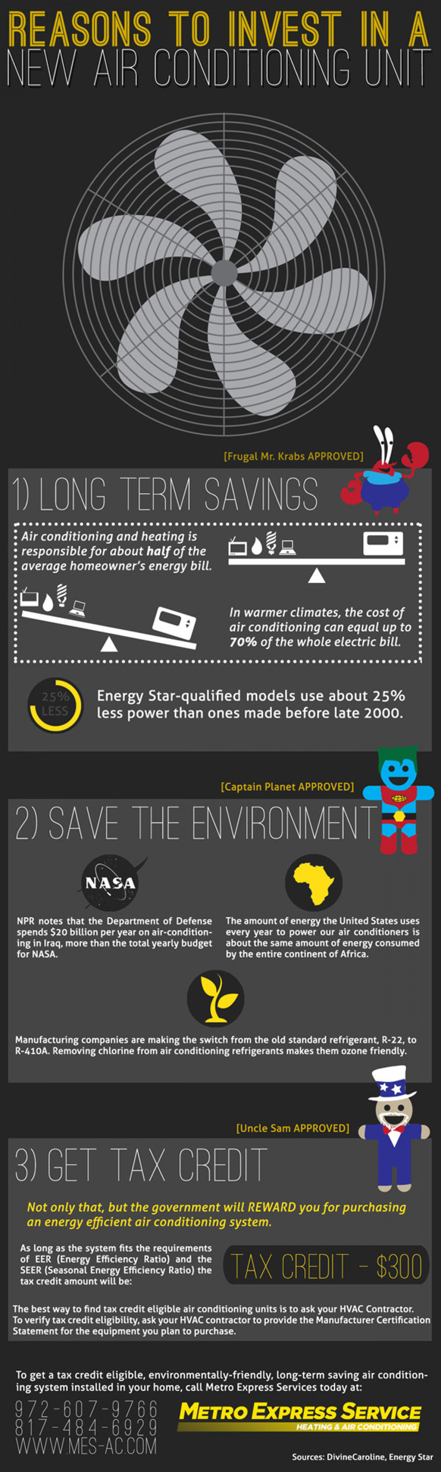 Reasons to Invest in a New Air Conditioning Unit Infographic