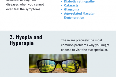 Reasons To Visit An Optometrist At Intervals Infographic