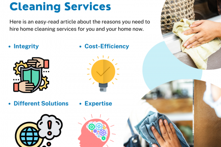 Reasons Why You Need Home Cleaning Services Infographic