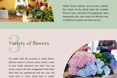 Reasons Why You Should Choose Online Flower Delivery Infographic