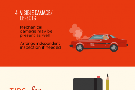 Recognizing the Red Flags of Car Shopping  Infographic