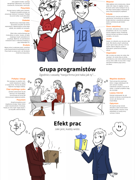 IT w Polsce Infographic