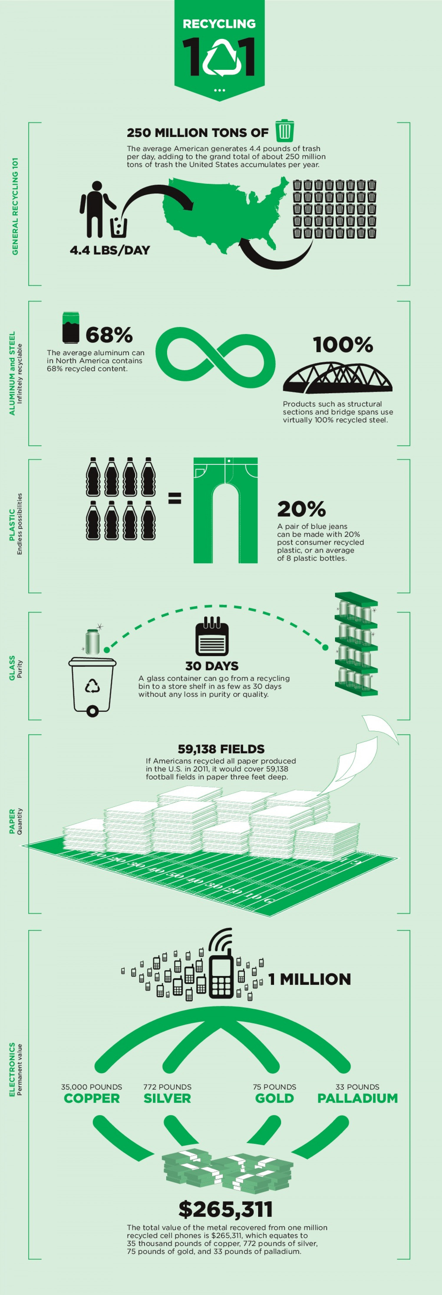 Recycling 101 Infographic