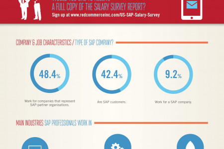 Red Commerce US SAP Salary Guide 2013 Infographic