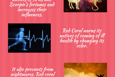 Red Coral Gemstone 5 Astrological Benefits  Infographic