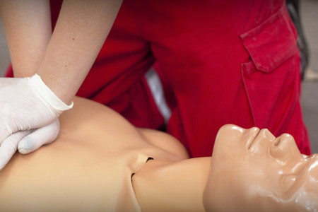 Red Cross Approved First Aid and CPR trainings Infographic