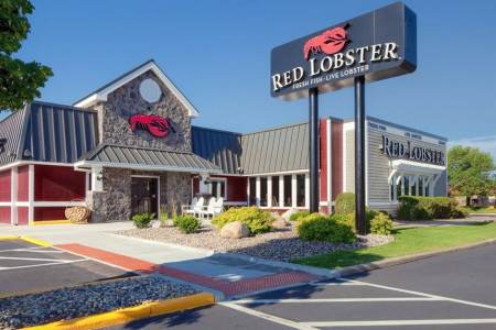 Red Lobster menu Prices Infographic