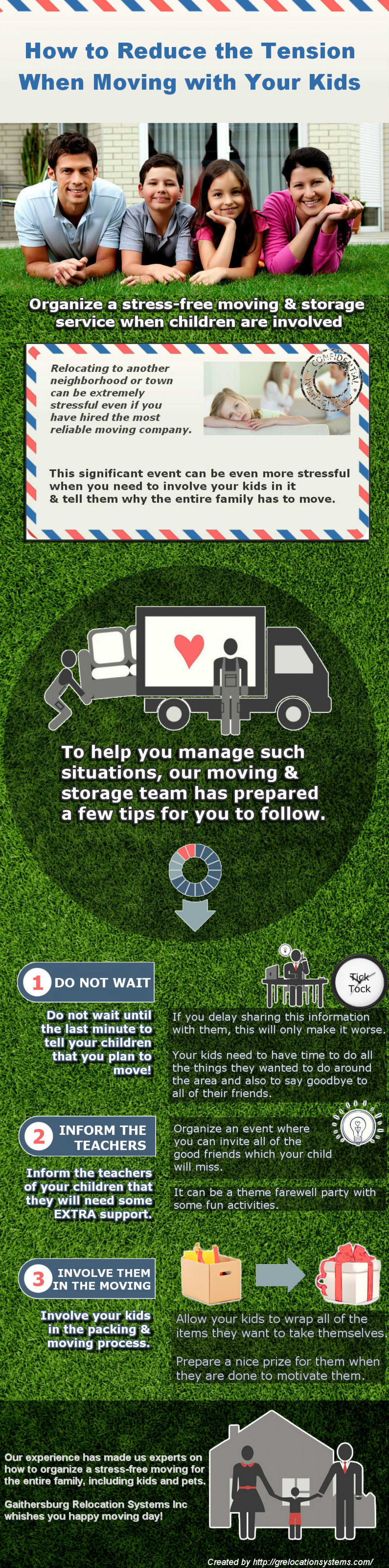 How to Reduce the Tension When Moving with Your Kids Infographic