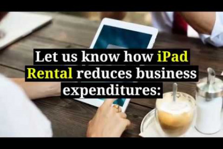 Reduce your Business Expenditure with our iPad Rentals in Dubai Infographic
