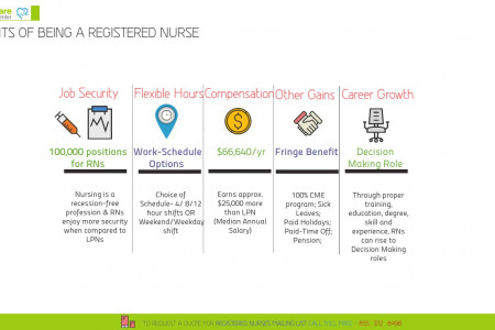 Registered Nurse Mailing List Infographic
