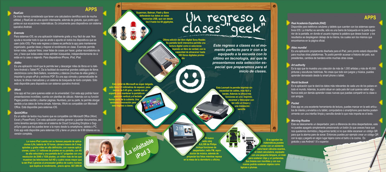 Regreso a Clases Infographic