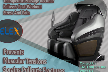 Relief Post Workout Stress With Massage Recliners Infographic